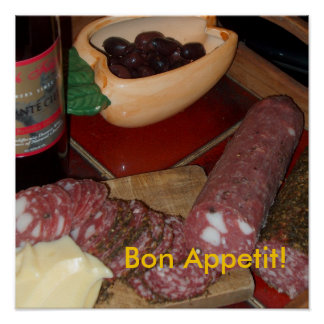 "Poster: ""Bon Appetit!"" Poster"