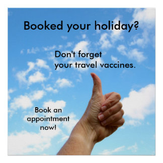 Poster - Booked your holiday?