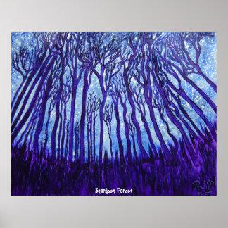 Poster - bosque de Stardust