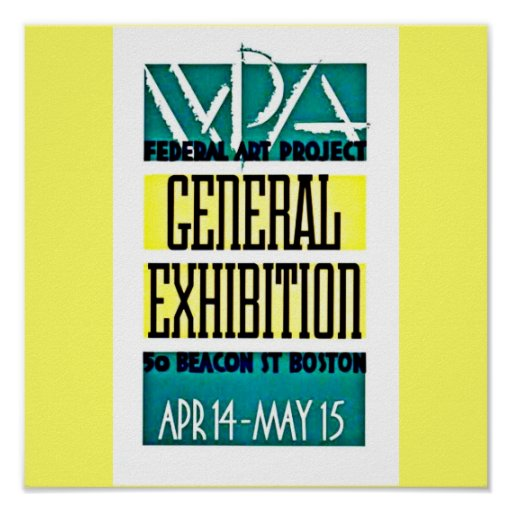 Poster-Boston WPA-8