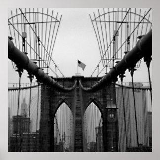 POSTER:  Brooklyn Bridge HUGE Poster