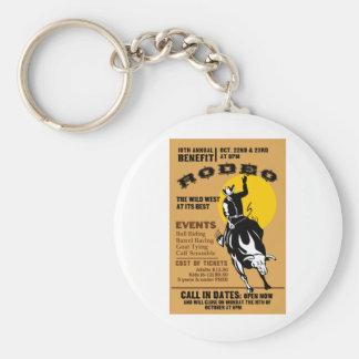 poster bucking del caballo salvaje del montar a ca llavero