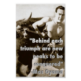 Poster But Oyama Bull