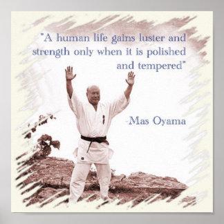Poster But Oyama Human Life