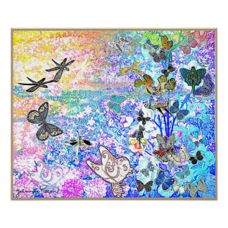 Poster  Butterfly-tree
