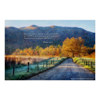 Poster - Cades Cove - Path of Life