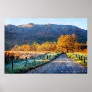 Poster - Cades Cove - Path of Life - No Verse