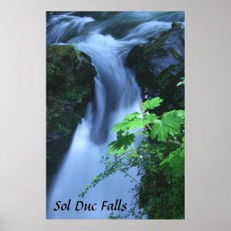 Poster: Caídas del solenoide Duc