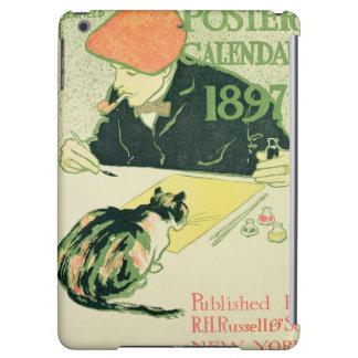 Poster Calendar, pub. by R.H. Russell & Son, 1897 iPad Air Cases