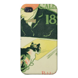 Poster Calendar, pub. by R.H. Russell & Son, 1897 iPhone 4 Cases