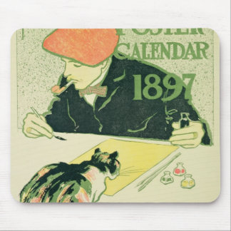 Poster Calendar, pub. by R.H. Russell & Son, 1897 Mouse Pad