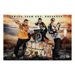 Poster caliente de la imagen del promo de Yung Joc