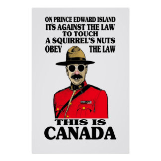 Poster canadiense de la ley