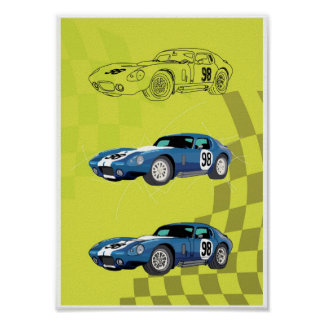 Poster Car Illustration