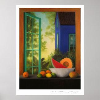 """Poster:  """"Casas Azul """""""