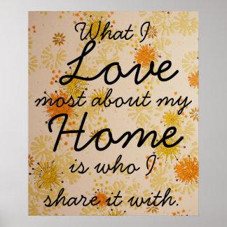 Poster casero de la familia del amor