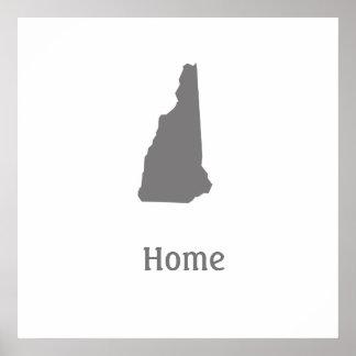 Poster casero de New Hampshire