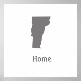 Poster casero de Vermont