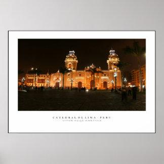 Poster Catedral do Peru