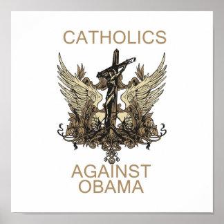 Poster: Catholics Against Obama Poster