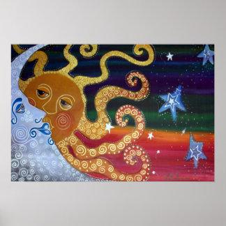 Poster celestial