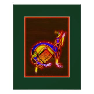 Poster CÉLTICO del arte de PHANTASMA