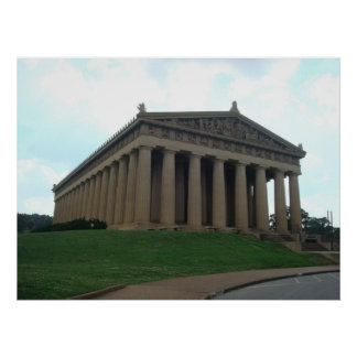 Poster centenario del parque de Nashville TN del P