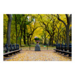 Poster - Central Park in Autumn, New York City