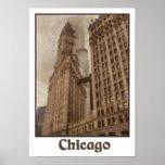 Poster céntrico de Chicago