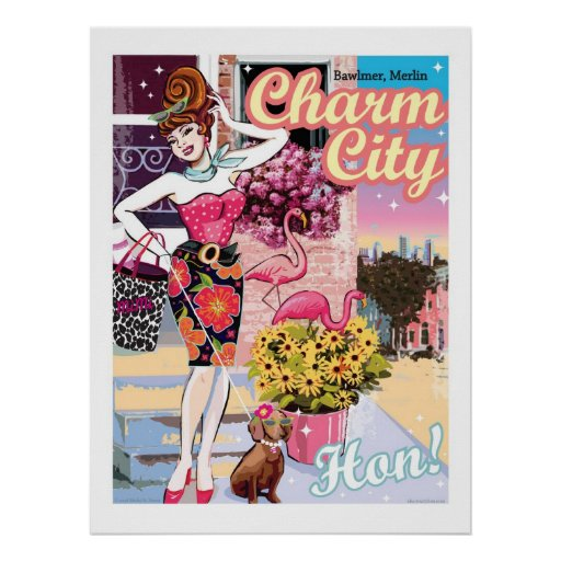 POSTER_CharmCityHon Posters