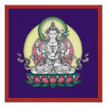 POSTER Chenrezig / Avalokiteshvara - from $14.25