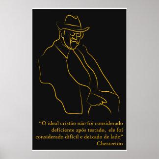 "Poster ""Chesterton """