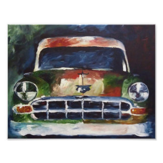 Poster Chevy 1954