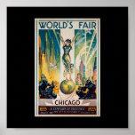 Poster-Chicago World's Fair-Century of Progress 3