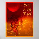 Poster chino bonito del Año Nuevo
