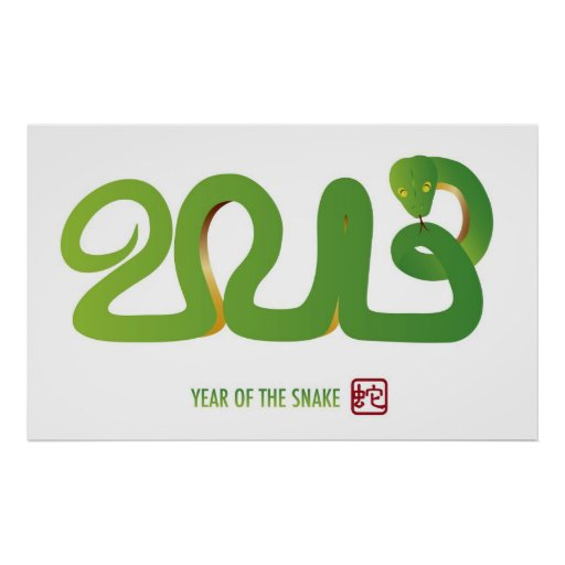Poster chino del Año Nuevo 2013