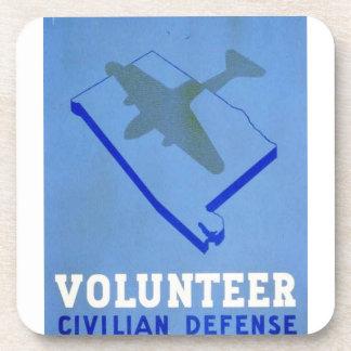 Poster civil voluntario de WPA de la defensa del Posavaso