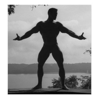 Poster clásico #10 de la actitud del Bodybuilding