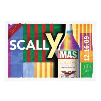 """Poster clásico de ScallyMas Folleto 5.5"""" X 8.5"""""""