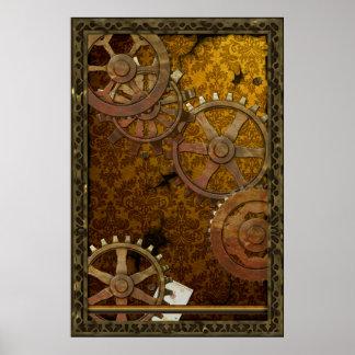 Poster clásico de Steampunk