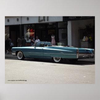 Poster clásico del coche 10