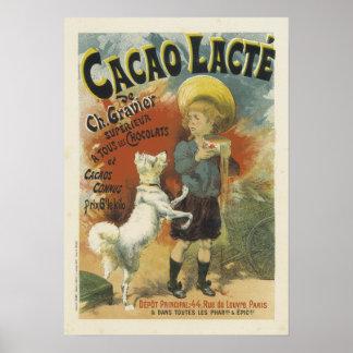 Poster clásico del vintage