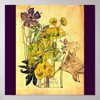 Poster-Clásico Vintage-Charles Rennie Mackintosh 2