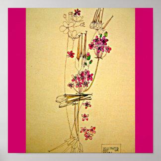 Poster-Clásico/Vintage-Charles Rennie Mackintosh 3 Póster