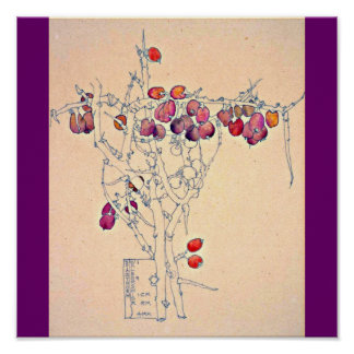 Poster-Clásico Vintage-Charles Rennie Mackintosh 7