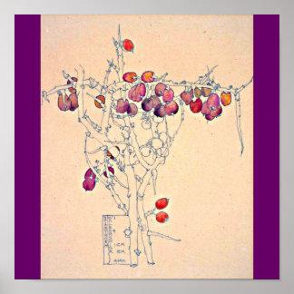 Poster-Clásico/Vintage-Charles Rennie Mackintosh 7 Póster
