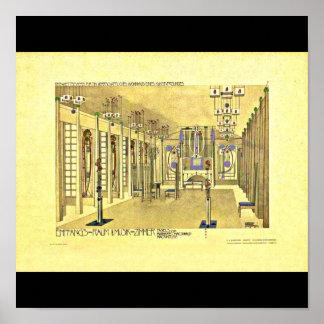 Poster-Clásico/Vintage-Charles Rennie Mackintosh 8 Póster