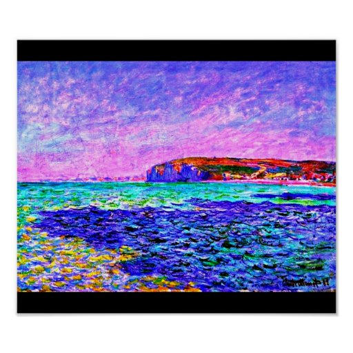 Poster-Clásico Vintage-Claude Monet 212