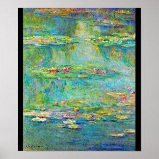 Poster-Clásico/Vintage-Claude Monet 214 Póster