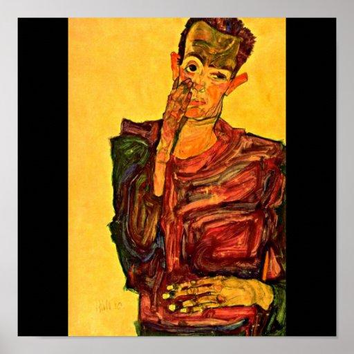 Poster-Clásico/Vintage-Egon Schiele 30